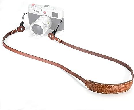 Canpis - Correa de Piel para cámara de Fotos réflex (para ...