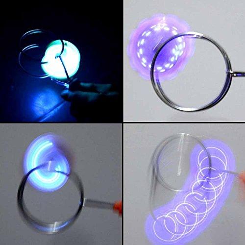 Jinjin light emitting track gyroscope gyro magnet adsorption jinjin light emitting track gyroscope gyro magnet adsorption rotary fire wheel random 60 mozeypictures Images