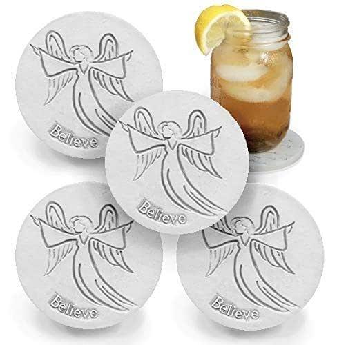Amazon.com: Drink Coasters - Absorbent - Angel - set ...