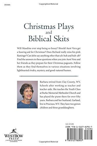christmas plays and biblical skits barbara tenney 9781512783957 amazoncom books - Christmas Skits For Youth