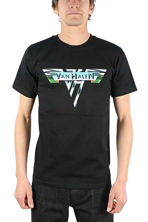 1bef9366a Van Halen 1978 Vintage Logo T-Shirt: Amazon.co.uk: Clothing
