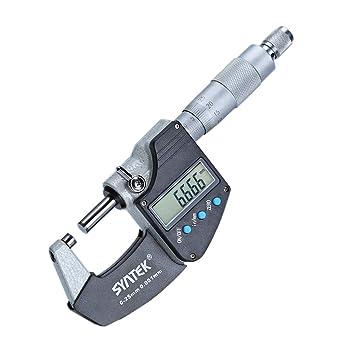 AUTOUTLET Microm/ètre Digital Jauge lectronique Num/érique /Électronique /à /Écran LCD 0~25 mm Microm/ètre dext/érieur Num/érique avec Absolute et Modes de Incr/émentielles Inch//M/étrique