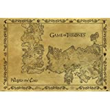 Maxi poster Game of Thrones Carte