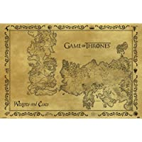 Maxi Poster Game Of Thrones Antique Map