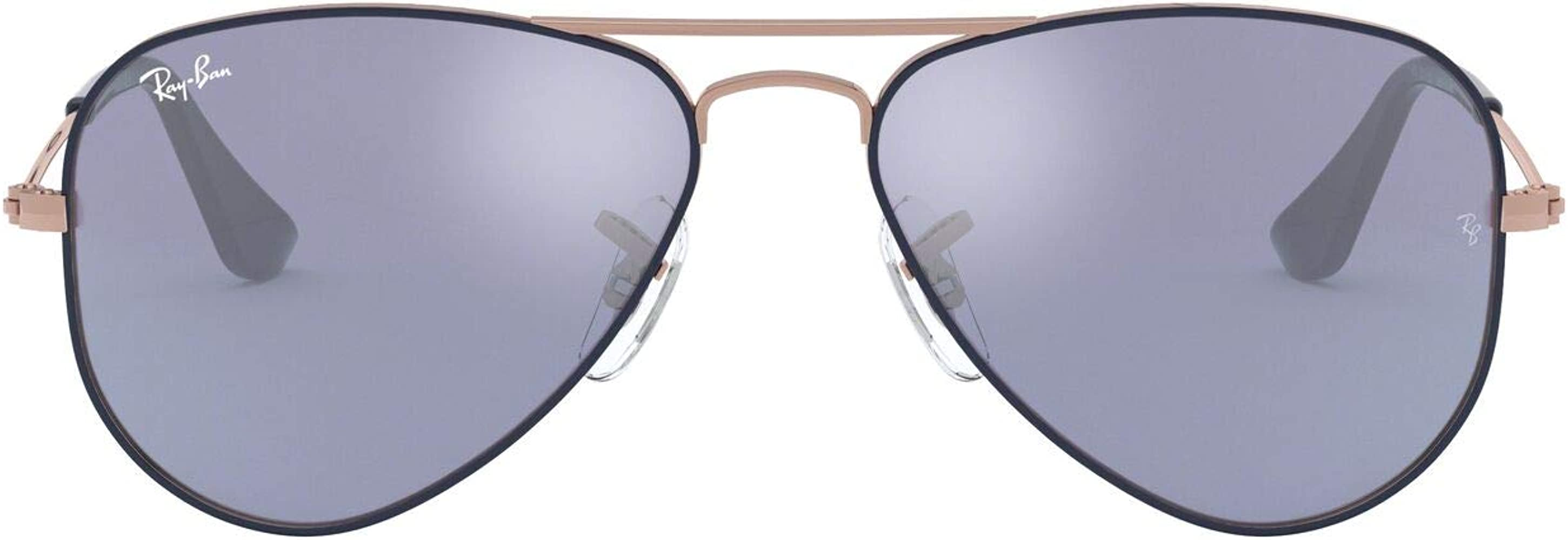Ray-Ban JUNIOR 0rj9506s 264/1u 50 Gafas de sol, Copper Top on Blue ...