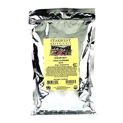 Starwest Botanicals Organic Essiac Tea, 1-pound Bag