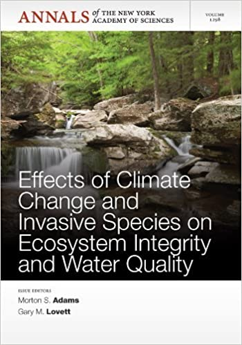 Effects of Climate Change and Invasive Species on Ecosystem Integrity and Water Quality (2013-11-30)