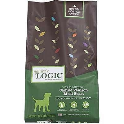 Nature'S Logic Dry Vensn For Dog, 26.4 Lb, 1 Pack
