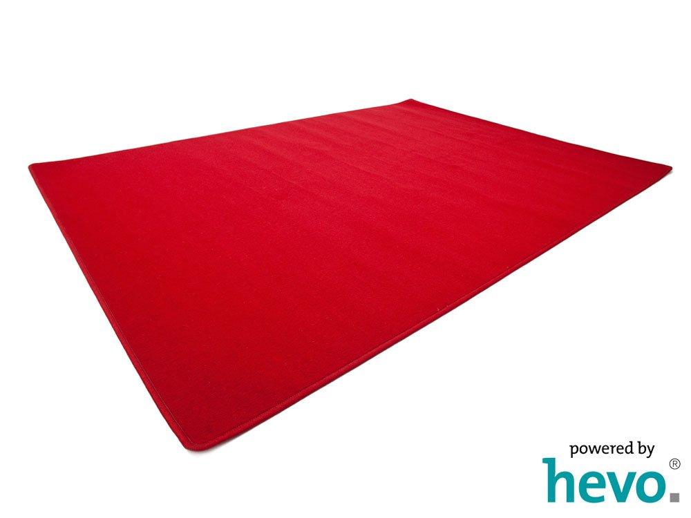Amigo rot HEVO® Teppich   Kinderteppich   Spielteppich 200x400 cm