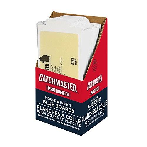 Catchmaster 75M Bulk Mouse and Insect Glue Boards, 75-Pack by Catchmaster