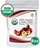 Madre Nature – 100% USDA Organic Camu Camu Powder 8oz Value Pack – Raw Peruvian Camu Camu Powder from High Concentrated Pulp – non-GMO – Vegan – Gluten Free (8oz) For Sale