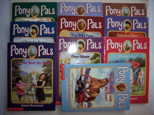 PONY PALS(MIX BOOKS SET-BOOK NO.1,2,4,6,9,14,16,17,22,33) (I want a pony, A pony for keeps, Give me back my pony, Too many ponies, The wild pony, Pony-sitters, The missing pony pal, Detective pony, Western pony, What's wrong with my pony?) Too Many Ponies