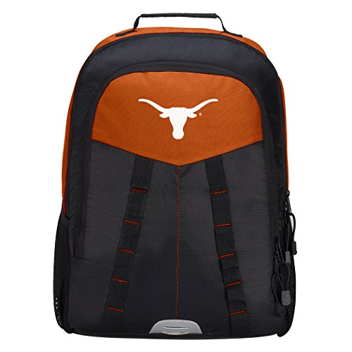 - Officially Licensed NCAA Texas Longhorns Scorcher Sports Backpack, Orange