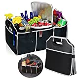 Suyi Automotive Car Boot Storage Bag Organiser Folding Tidy Heavy Duty Car Trunk SUV Back Seat Cargo Carrier Box Collapsible Shopping Travel Holder-Car and Tool Organizer Bag