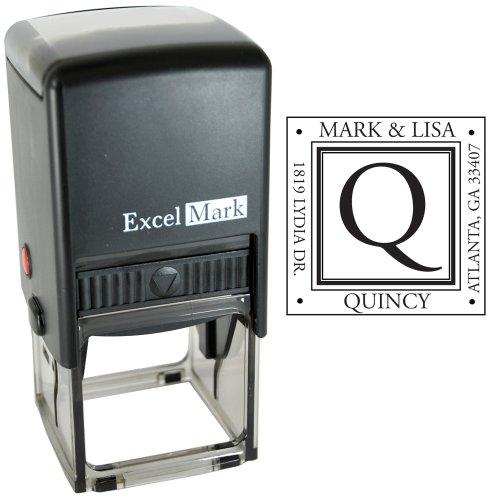 Custom Inking Address Stamp Monogram product image