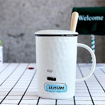 Ajunr Kreative Relief Keramik Cup Englisch Becher Mit