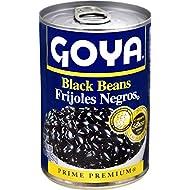 Goya Canned Black Beans, 15.5 Oz