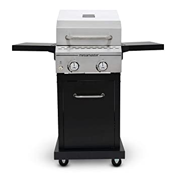 MEGAMASTER 2-Burner 418sq. in Propane Gas Grill