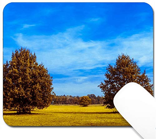 MSD Mouse Pad with Design - Non-Slip Gaming Mouse Pad - Image ID 32148135 Autumn Oak Tree