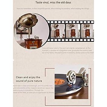 SMLCTY Gramophone clásica en la Sala de Estar, LP de Registro ...