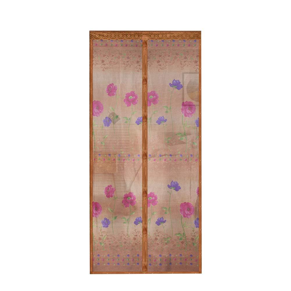 Filet de porte moustiquaire mains libres avec grille de fermeture magnétique anti-moustique Rocita