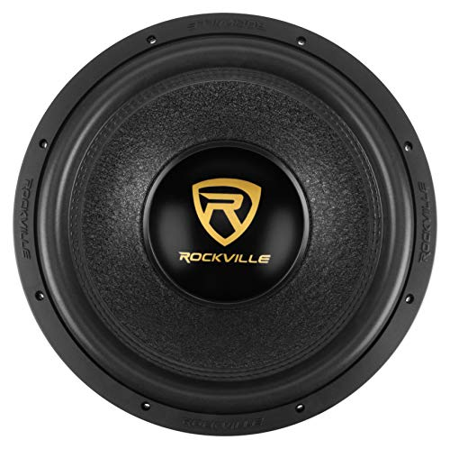 Rockville W15K9D4 15″ 5000w Car Audio Subwoofer Dual 4-Ohm Sub CEA Compliant