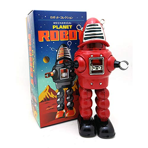 Sparking Tin Robot - Wind-Up