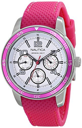 Nautica Women's NCT Stainless Steel Dive Watch