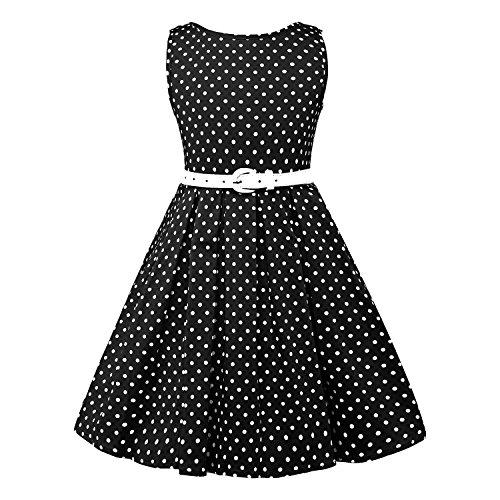 LUOUSE Girls Sleeveless Vintage Dresses product image