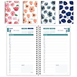 """Brownline CA201PT.ASX-2018 2017-2018 Daily Academic Appointment Book/Planner, August-July, Assorted Watercolor Designs, English, 8"""" x 5"""""""