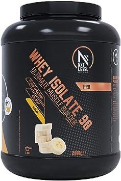 NXT Level Whey Isolate 90 - Plátano 2000 g