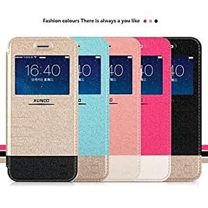 """JOE XUNDD Flip PU Hard Back Cover Cases with Stand for iPhone 6 4.7""""(Assorted Colors) , Blue"""