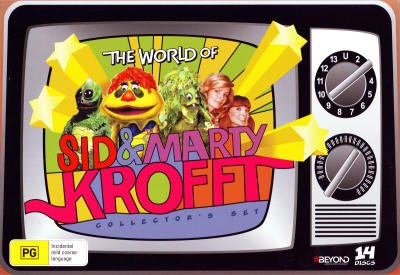 - The World of Sid and Marty Krofft - Complete Series - 14-DVD Box Set ( H.R. Pufnstuf / Land of the Lost / Sigmund and the Sea Monsters / Electra Woman and Dyna Girl )