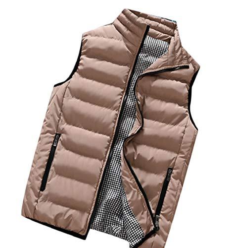 Gocgt Vests Puffer Coats 2 Down Sleeveless Lightweight Winter Men's Packable SAFBS