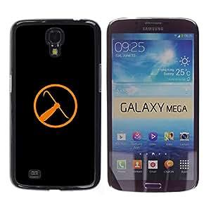 EJOY---Cubierta de la caja de protección la piel dura para el / Samsung Galaxy Mega 6.3 / --Half Life Crowbar