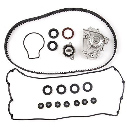 Acura Integra Valve (Timing Belt Water Pump Valve Cover Gasket Kit , ECCPP for 1996 - 2001 Acura Integra RS GS LS Honda CR-V 1.8L 2.0L DOHC B18B1 B20B4 B20Z2)