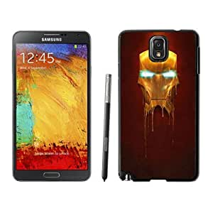 Custom and Personalized Cell Phone Case Design with Iron Man Mask Galaxy NOTE 3 N900P Wallpaper