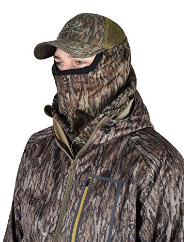Mossy Oak 3/4 camo Head net mesh hunting mask turkey deer Face MO-34CH-BL (Net Head Turkey)