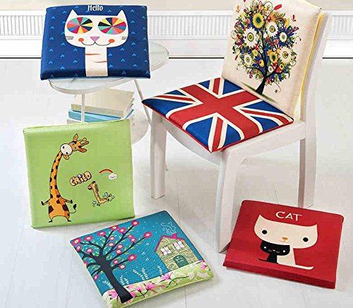Cute-Cartoon-Animal-Seat-Cushion-Soft-Home-Office-Dining-Chair-Cushion