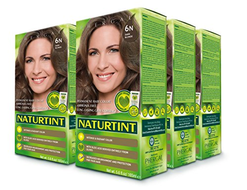 Naturtint Permanent Hair Color - 6N Dark Blonde, 5.6fl.oz (6-pack) by Naturtint