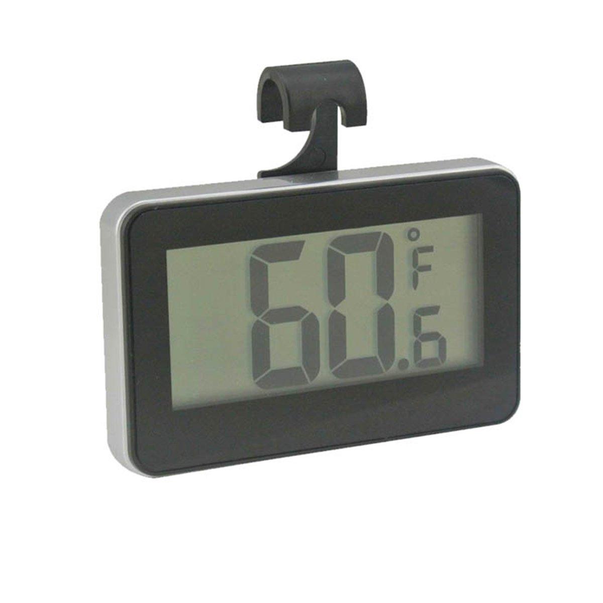 Digital nevera congelador Termómetro con parte posterior magnética ...