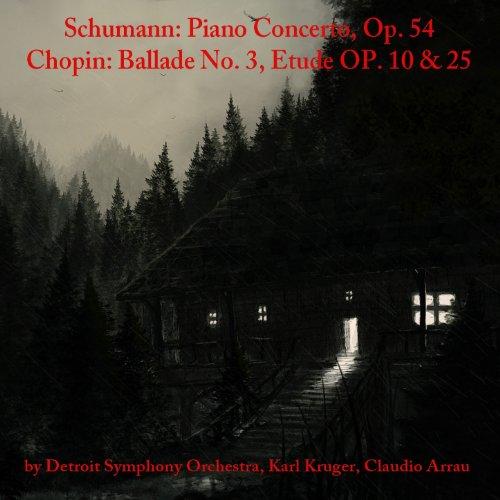 Etude 3 Tristesse Chopin: Schumann: Piano Concerto, Op. 54