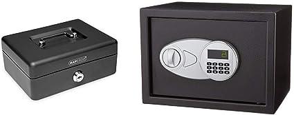 Rapesco money - Caja fuerte portátil de 15 cm de ancho con ...