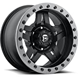 fuel anza wheels - Fuel Anza 15 Black Wheel / Rim 5x4.5 with a -43mm Offset and a 72.6 Hub Bore. Partnumber D55715006537