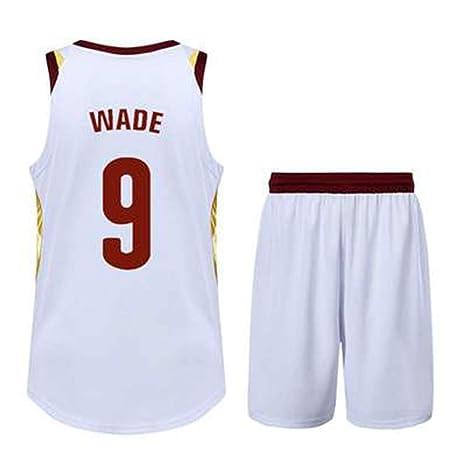 WEIHUA Ropa de Baloncesto Traje Traje de Pelota Wade Traje ...