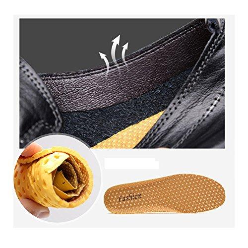 en Loisirs À Cuir DHFUD Noir Homme Volant L'extérieur Mode Jeunesse Paresse AU Chaussures w4ntUOvq
