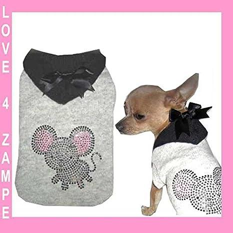 S mäuslein Chihuahua perro perros - Sudadera para mujer para pequeños perros mano: Amazon.es: Productos para mascotas