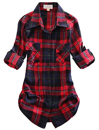 Fleece Tartan Fabric - 4