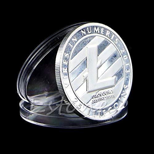 (Us Coin - Collectible Coin 1 Oz Pure .999 Silver Plated 25 Ltc Litecoin Vires In Numeris Medallion D13 - Memory Wing Hematite Cages Accessories Piggy Coins Charms Pearl Artistic Links Hdmi Utens)