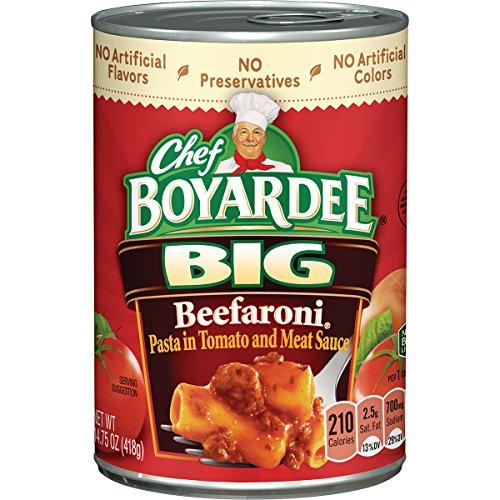 (Chef Boyardee Big Beefaroni, 14.75 oz, 12 Pack)